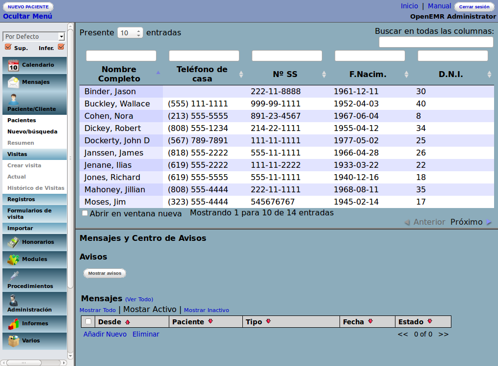 OpenEMR, control de registros médicos   LibreByte