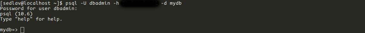 Conectarse al servidor Postgres