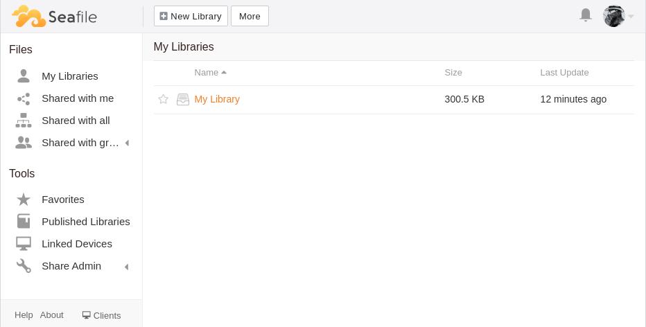 Seafile Library